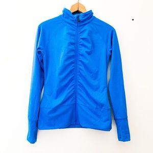 Soybu    Sustainable Blue Zip Up Track Jacket